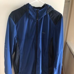 Blue Michael Kors Windbreaker